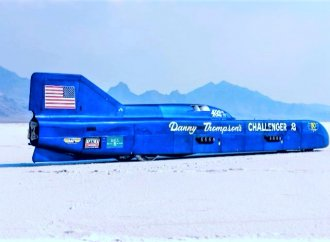 Challenger 2 speed-record streamliner on the Mecum docket for Kissimmee