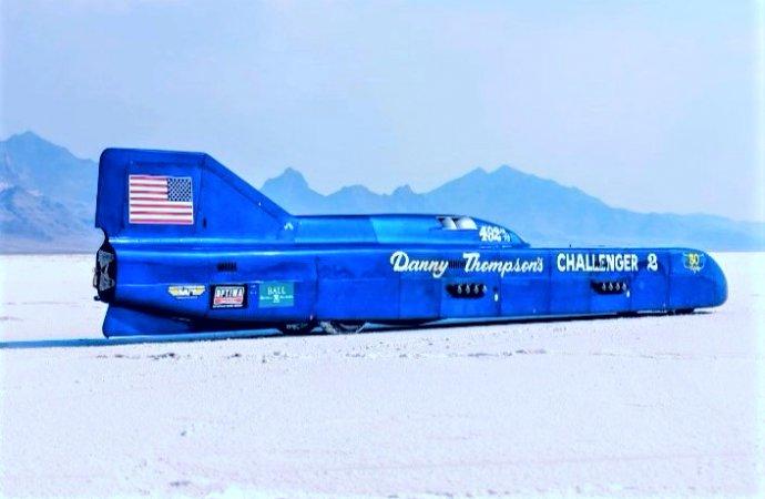 Challenger 2 speed-record streamliner on the Mecum docket for Kissimmee