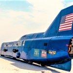 challenger 2 speed record mecum rear