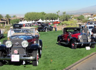 Childhood passions bloom at inaugural Las Vegas concours