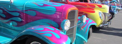 Goldstrom's car show adds exclamation to SEMA Show week