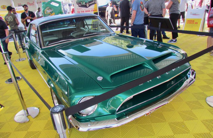 Not for sale, but early Shelby Mustangs to reunite at Barrett-Jackson venue