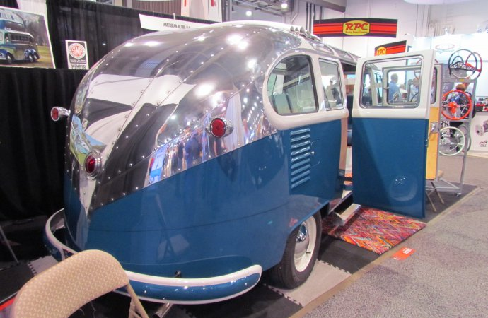 SEMA Seen: Randy Grubb's 1959 VW bus/camper