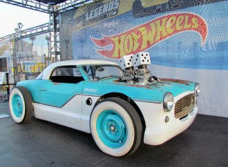 Imagine, your car becomes a Hot Wheels toy