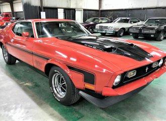 James Bond car: 1972 Mustang Mach 1