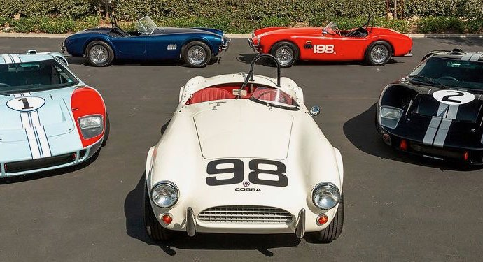 Cinema Series based on 'Ford v Ferrari' movie cars in the works