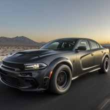 SEMA Seen: AWD twin-turbo Dodge Charger among sea of Supras