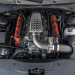 Featuring a twin-turbocharged Dodge 6.2-liter Demon V-8