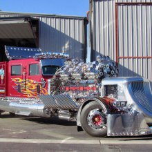 This Thor is the superhero of big rigs