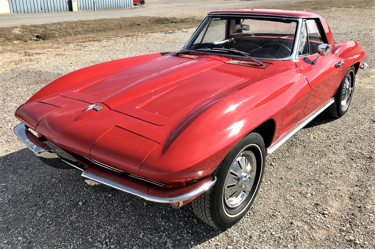 Classic bowtie roadster, 1964 Chevrolet Corvette matching-numbers convertible