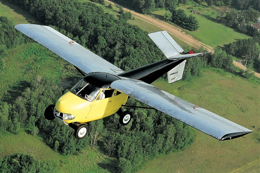 The incredible flying car: Barrett-Jackson has one on its January docket