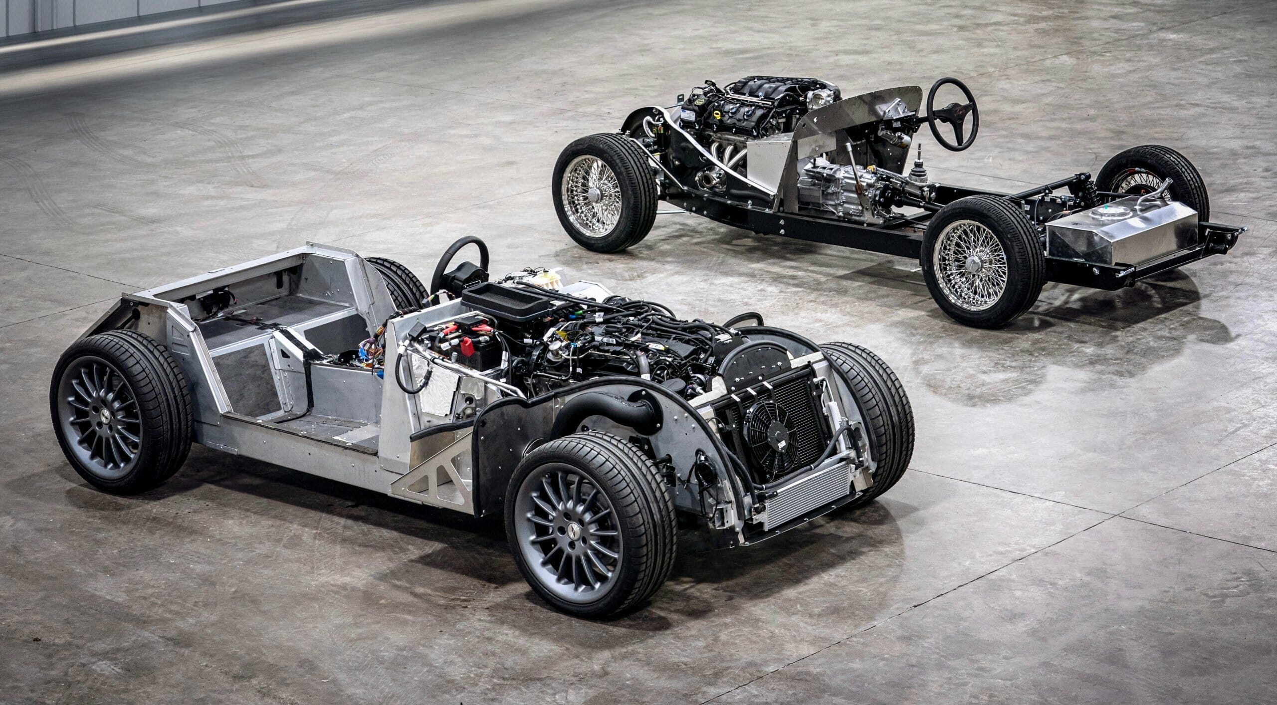 chassis, Morgan moving to aluminum chassis but keeping wood body framing, ClassicCars.com Journal