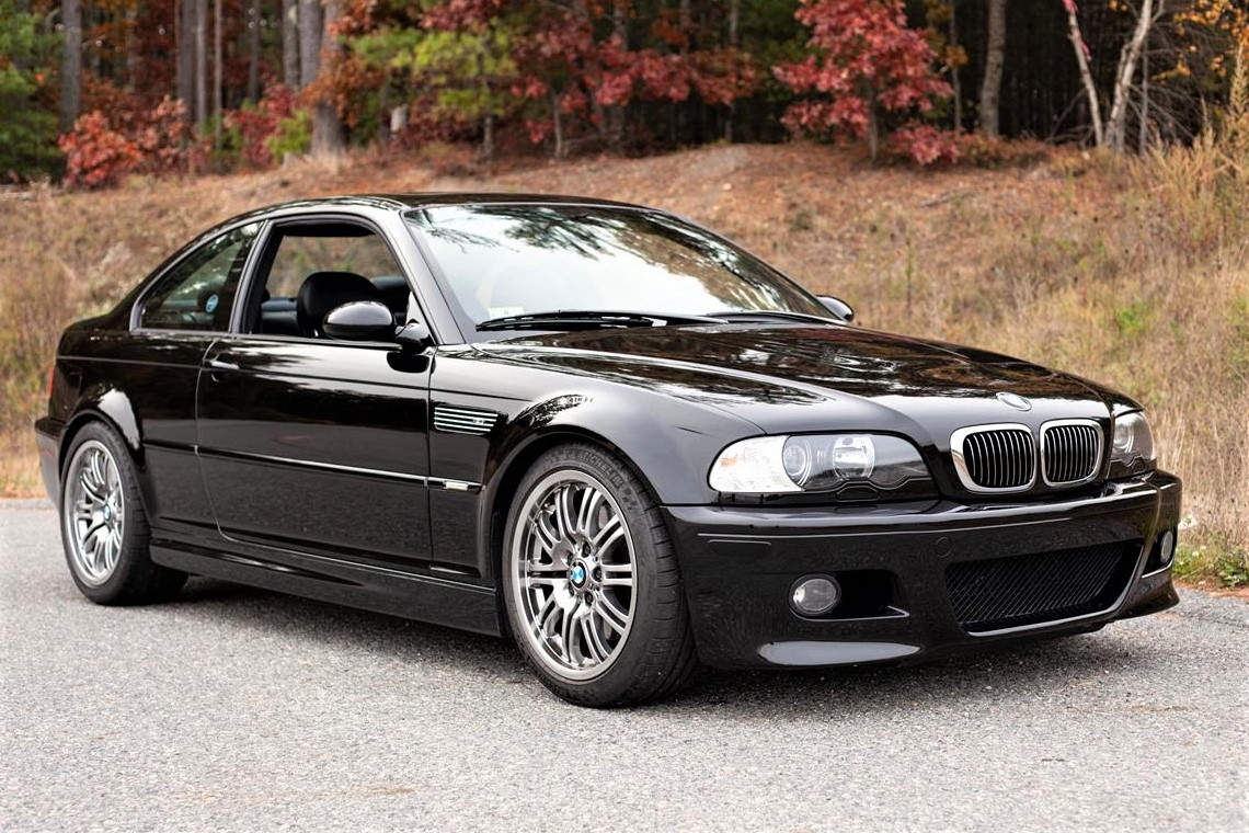 Original, low-mileage 2001 BMW M3 coupe offered at a reasonable price