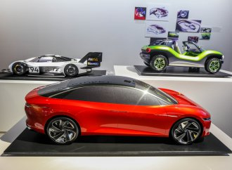 Petersen, VW display an 'Electric Future'