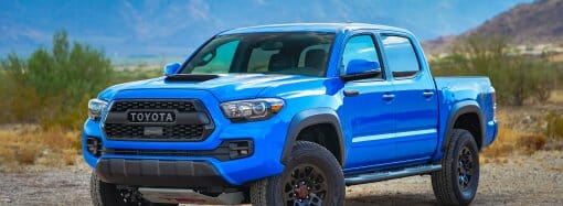 Tacoma TRD Pro capable off-road, but awkward in town