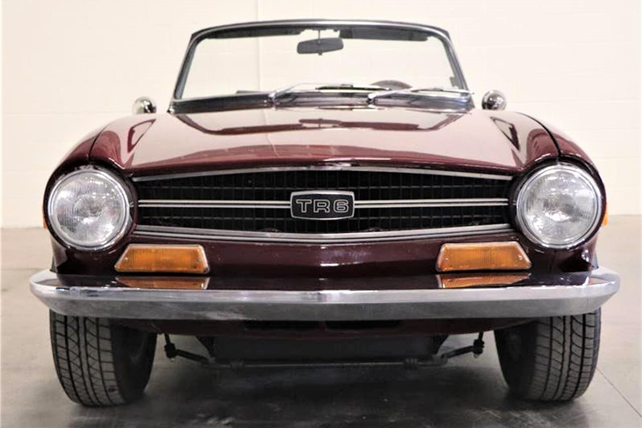 Last of the great classic British sports cars, 1972 Triumph TR6
