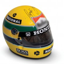 Autographed Ayrton Senna helmet brings $102,000 at auction