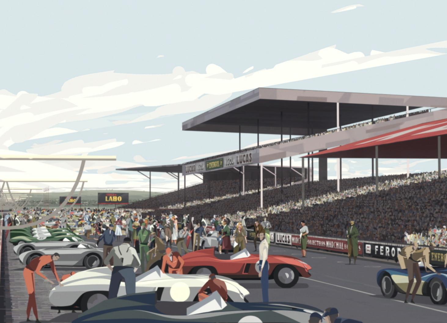 Oscars, 'Le Mans 1955' animation getting Oscar consideration, ClassicCars.com Journal
